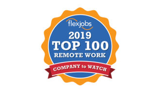 FlexJobs Top 100 Remote Work Logo